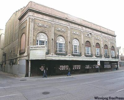 Canad Inns is still committed to renovating the Metropolitan Theatre, says Mayor Sam Katz.