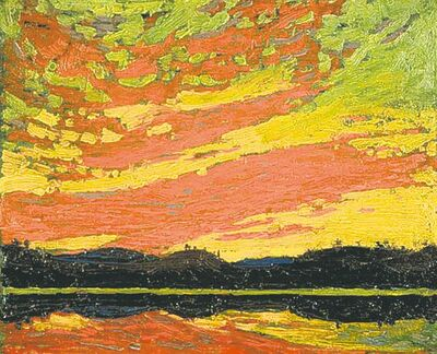 Tom Thomson�s Sunset.