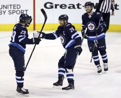 Winnipeg Jets' Patrik Laine was finding his groove this season before the pandemic struck. He's ready to return to form against the Calgary Flames.
