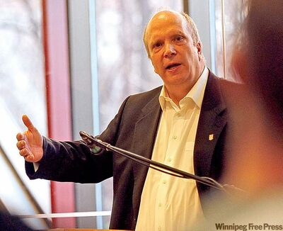 Glenn Feltham, dean of the I.H.Asper Business School, hopes to attract more students.