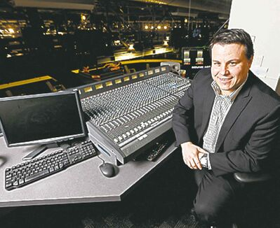Kyle Balharry: MTS Centre's man behind the Kiss Cam.