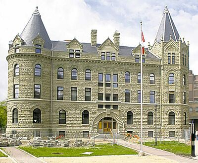 The University of Winnipeg: aboriginal strength