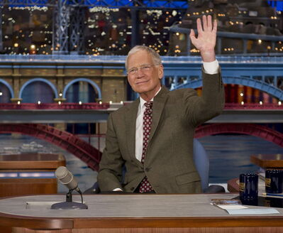 In this photo provided by CBS, David Letterman, the 67-year-old host of the 'Late Show with David Letterman,' waves to the audience in New York after announcing that he will retire  in 2015. He'd be well-advised to have a retirement plan before leaving his job.