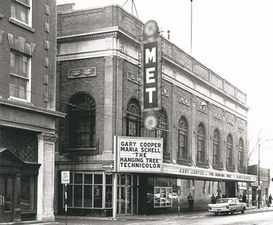 The Met drew crowds for first-run movies for decades before closing its doors in 1987.