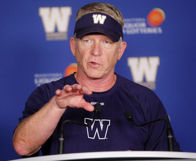 Bombers head coach Tim Burke