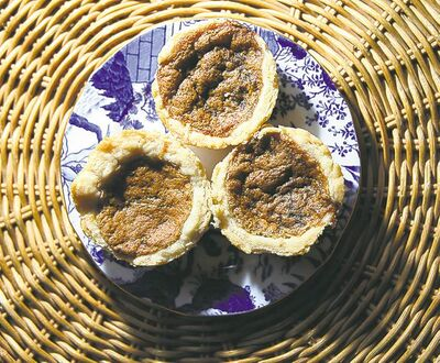 Never-boil-over  butter tarts