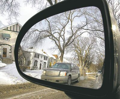 A city report says the major factor in driver speed is the street.