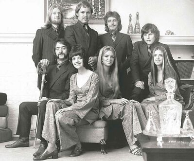 submitted photoAmong the members of Sugar & Spice circa 1969 were Maureen Murphy (front, second from left), Aileen Murphy and Kathleen Murphy and John MacInnes (back row, right, behind Kathleen Murphy).