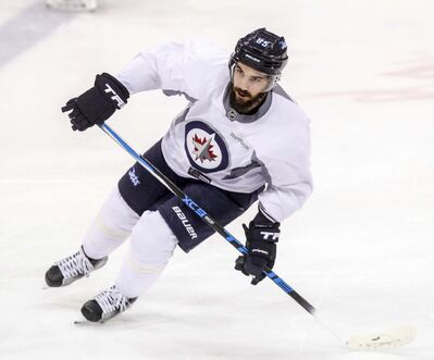 BORIS MINKEVICH / WINNIPEG FREE PRESS</p><p>Mathieu Perreault is a -10 on the year, a stat he isn&#39;t proud of. </p></p></p>