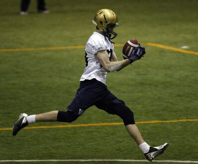 This might be the year receiver Jade Etienne makes an impact in Winnipeg.