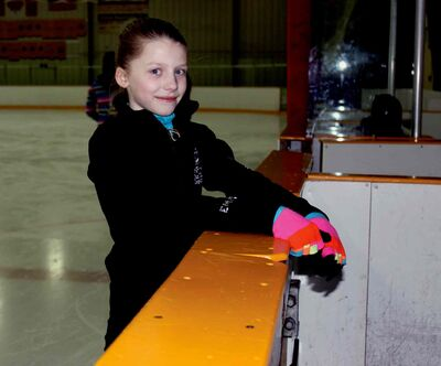Emma King, 11, will be competing in her first Manitoba Provincial Games.