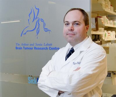 Dr. Michael Taylor of Toronto's Hospital for Sick Children is shown in an undated photo. Taylor is the senior author of a new study which is shedding light on why treatment often fails when a devastating form of pediatric brain cancer spreads. THE CANADIAN PRESS/ho-Hospital for Sick Children