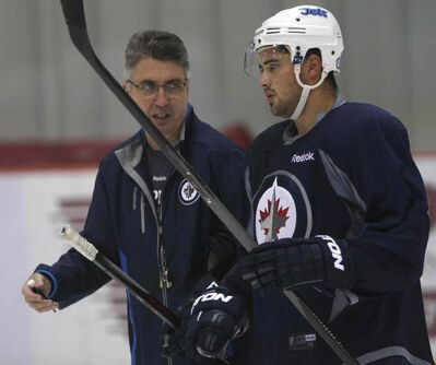 Jets head coach Claude Noel will need a big game from right-winger Devin Setoguchi against the Wild Thursday. Setoguchi played the last two seasons in Minnesota.