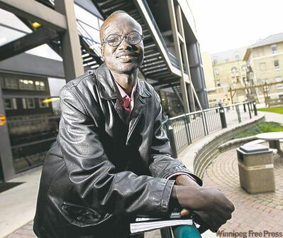 Reuben Garang plans to return to Sudan to inspire young people to meet their goals.