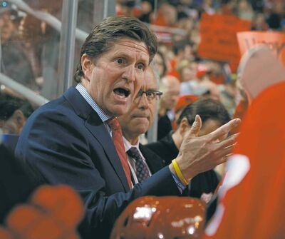 Julian H. Gonzalez  / Detroit Free Press  MCT filesDetroit Red Wings head coach Mike Babcock has a habit of speaking loudly to his players.