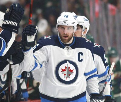 THE CANADIAN PRESS/AP, Andy Clayton-King</p><p>Winnipeg Jets captain Blake Wheeler says there's more to winning than just having a talented roster.</p>