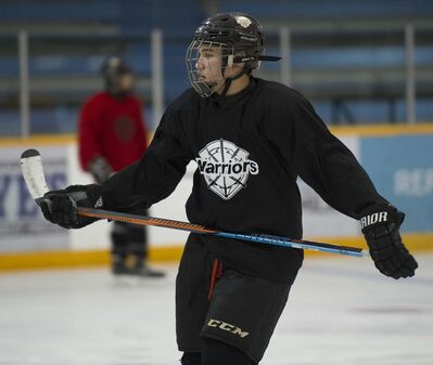 DAVID LIPNOWSKI / WINNIPEG FREE PRESS FILES</p><p>Jett Woo is just the second player of Chinese descent to ever be selected in the draft.</p>