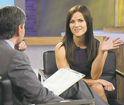 IDA MAE ASTUTE / ABC/ THE ASSOCIATED PRESS ARCHIVESABC news shows co-host George Stephanopoulos interviews actress Reese Witherspoon. She repeatedly apologized for her behaviour during an April 19 traffic stop in Georgia.