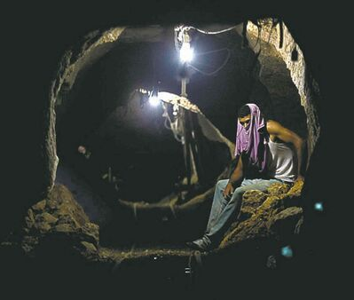 Hatem Moussa / The Associated Press ArchiveForeign militaries are using tunnels and other underground networks to gain a tactical advantage.