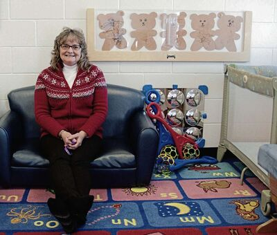 Liz Bruce has been the director of the Wee Bairns Infant Care Inc., which operates out of Murdoch MacKay Collegiate, since the centre opened in 1991. She was recently one of 10 nominees for the Canadian Child Care Federation's Award of Excellence. (SHELDON BIRNIE/CANSTAR/THE HERALD)