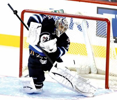 Ondrej Pavelec kept the Jets in the game Tuesday against the fearsome Bruins until a late rally gave Winnipeg the victory.
