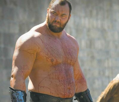 The character 'The Mountain' may be big, but squeezing a skull is impossible.
