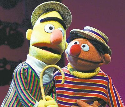 Which of the five friendship types do Ernie and Bert fall into?