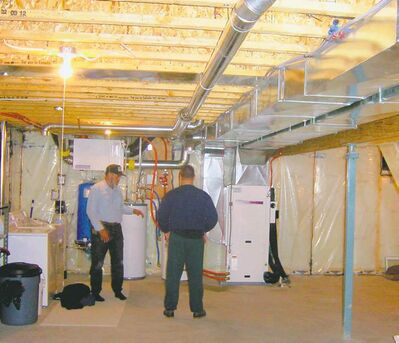 The installation of a geothermal heating system can be complicated, but the savings in energy costs are substantial.
