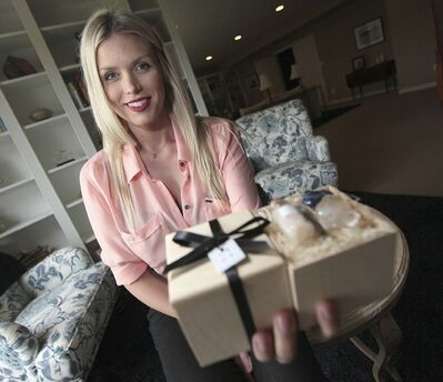 PHIL HOSSACK / WINNIPEG FREE PRESS</p><p>Winnipeggers and even a few A-list celebrities are scooping up Kiera Fogg's products faster than she can produce them.</p>