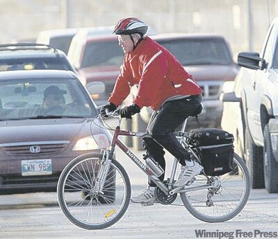 Winnipeggers trade gas pedals for bike  pedals