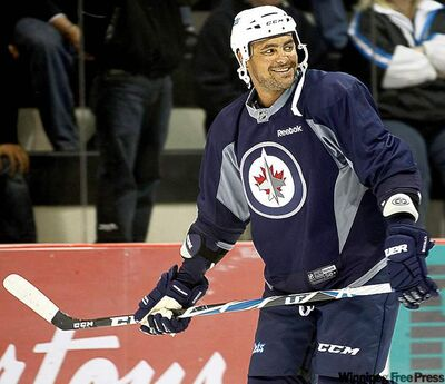 Winnipeg Jets Dustin Byfuglien