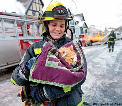 Alix Sobler was 'so grateful that Wyatt was found alive' by firefighters in the rubble of the condo.