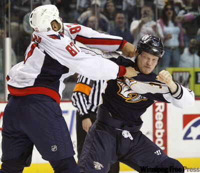 Fighting in hockey is a contentious debate among hockey fans and Free Press readers. Some say it's brutal and needless; others say it adds entertainment to the game.