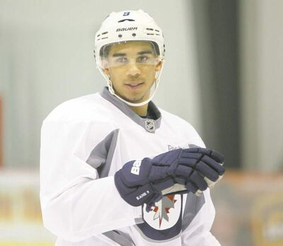 TREVOR HAGAN / WINNIPEG FREE PRESsWinnipeg Jets� Evander Kane generally shoots first and wonders whether he should have passed later, but that�s not always been the case lately.