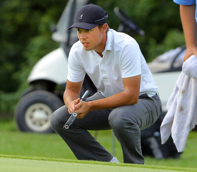 Josh Wytinck competed in the Manitoba Mens' Amateur Golf championship this summer at the Neepawa Golf and Country Club.