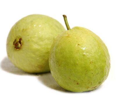 Like tomatoes, red guavas contain high concentrations of the cancer-fighting antioxidant lycopene.