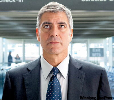 George Clooney in Up in The Air.