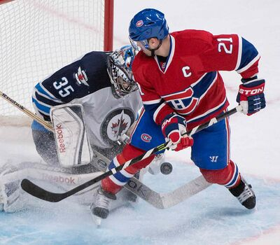 Montreal Canadiens' Brian Gionta