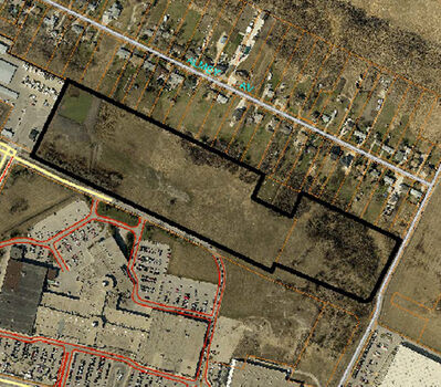 Shindico Realty wants to develop a 25-acre parcel of land on the north side of Reenders Drive, north of Kildonan Place.
