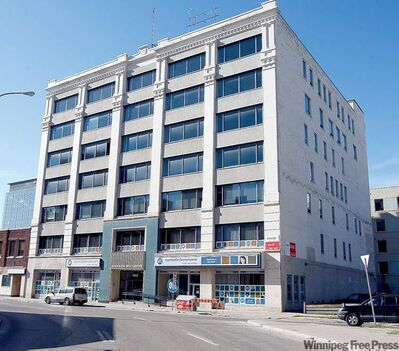 KEN GIGLIOTTI  / WINNIPEG FREE PRESS The Canada Building will provide Manitoba Housing and Community Development with 71,100 square feet of office space.
