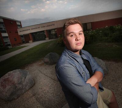 Dakota Kochie, a recent high school graduate, is running for school board trustee.
