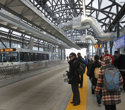 The city's executive policy committee voted to approve a plan that would see the second leg of the city's rapid-transit bus route go through the Parker Lands.