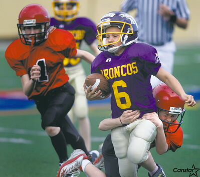 Registration for some youth sports, such as soccer and baseball, is already on, while football registration for programs such as the Charleswood Broncos, is just around the corner.