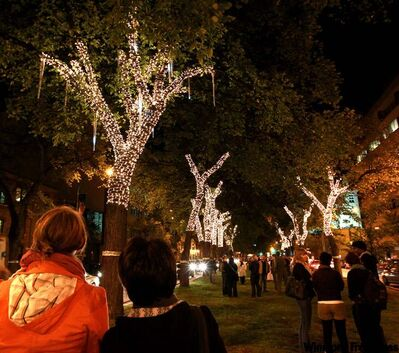 Mayor Sam Katz has promised to expand last month's popular Lights on Broadway festival (above) to four days.