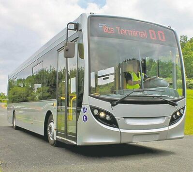 SUBMITTED PHOTONew Flyer will produce mid-sized buses in a deal with Britain�s leading bus maker.