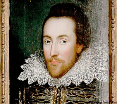 Portrait of Shakespeare discovered in 2009.
