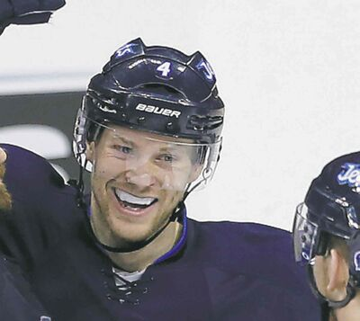 Defenceman Paul Postma has signed a new two-year contract with the Winnipeg Jets.