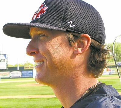 winnipeg free press archivesJamie Vermilyea is back as Goldeyes pitching coach after retiring as a pitcher.