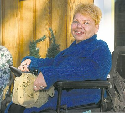 Terry McIntosh hopes for  positive change with new  provincial legislation that aims to improve accessibility for persons with  disabilities.