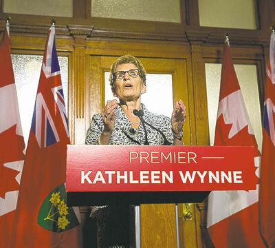 There are lessons to be learned from Ontario Premier Kathleen Wynne's majority win. Just waiting for voters to vote against an incumbent can be a losing proposition.